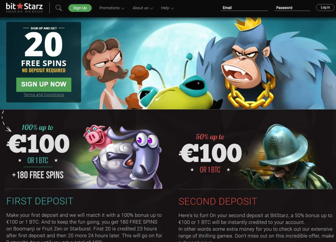 200 free spins in Promotions