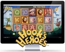 Hook's Heroes™ new Netent game free spins at casino online