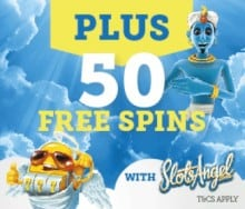 Slots Angel Casino 25 Free Spins and 100% Welcome Bonus