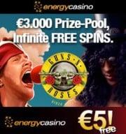 EnergyCasino free bonus