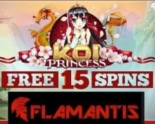 Flamantis Casino free spins