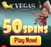 Vegas Paradise Casino free spins