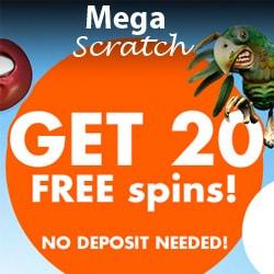 Mega Scratch Casino free spins