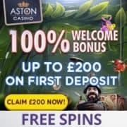 Aston Casino free bonus