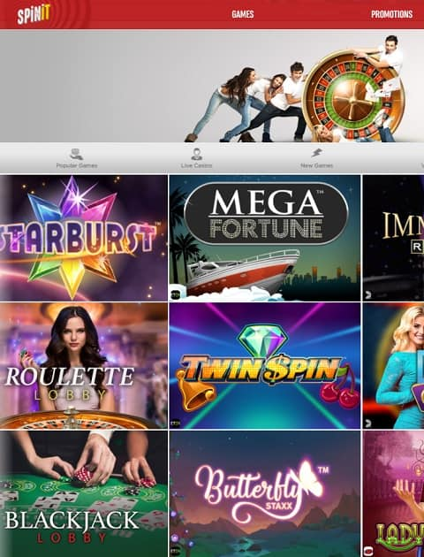 SpinIt.om Casino Review