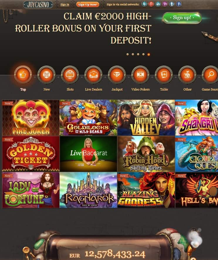 Joy Casino Review