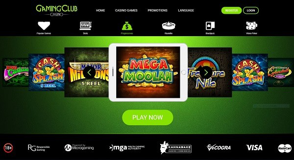 Gaming Club Casino Bonus Code, Promotion, Free Games