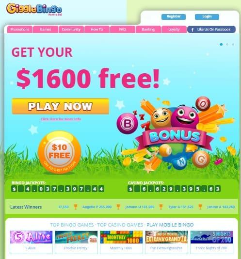 Giggle Bingo Casino Review