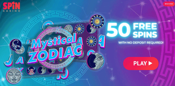 50 Gratis Spins without deposit