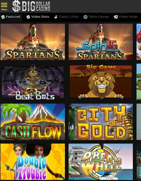 Big Dollar Online Casino USA