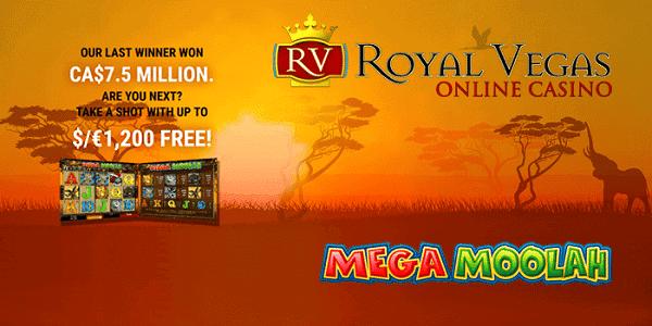 Win Mega Moolah today!