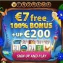 Winorama €7 FREE and 100% up to €200 welcome bonus