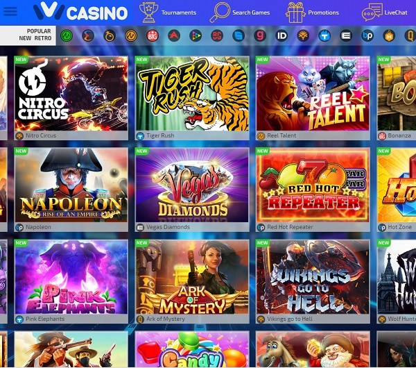 IVI Casino Online & Mobile