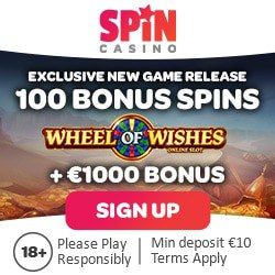 100 gratis spins on Wheel of Wishes