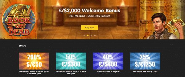 Get free spins no deposit bonus!
