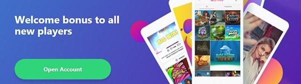 Dreamz Casino welcome bonus and free spins