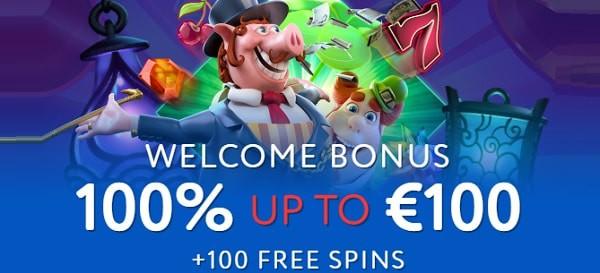 EUSLot 100% bonus