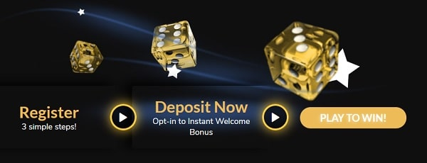 Register and deposit to claim 1800 EUR bonus and 100 free spins
