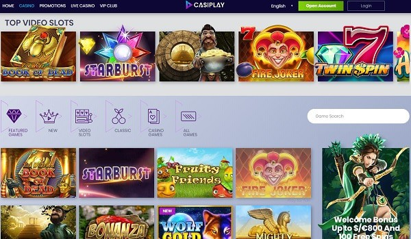 Casiplay Online Review