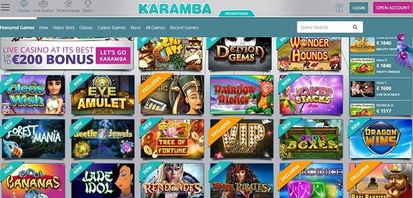 Online Games, Live Dealer, Sportsbook