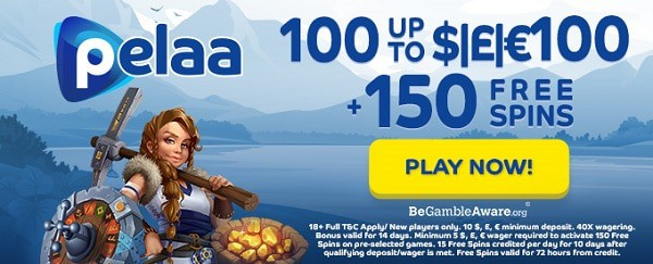 Get 150 Free Spins and 1,000 EUR welcome bonus
