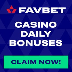 FAVBET Casino 10 EUR risk-free bet and 10,000 free spins