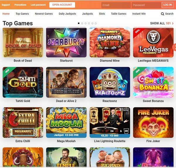 LeoVegas.com Online Casino Review