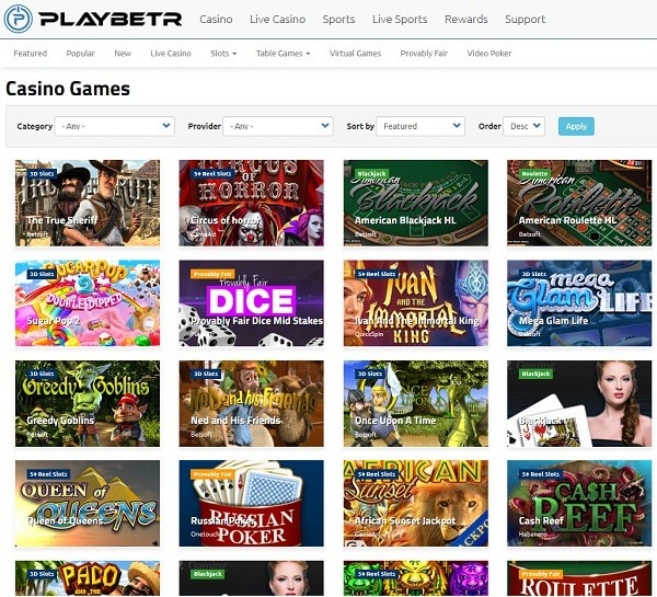 PlayBetr Casino Reviews