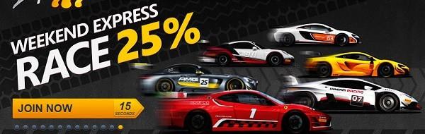 Weekend Express Race 25% Reload