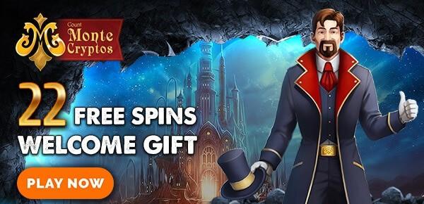 Monte Cryptos free spins no deposit bonus