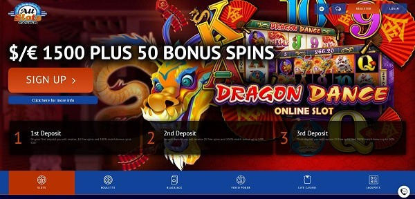 50 exclusive free spins bonus on Microgaming slot machines (All Slots)