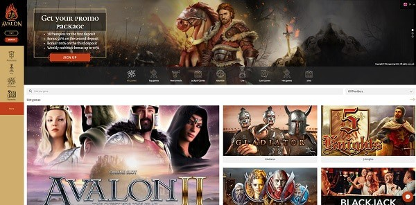 Avalon 78 Casino Online Free Spins Bonus