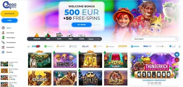 100% bonus and 50 free spins on deposit