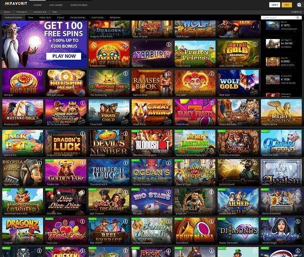 Full Review of Mr Favorit Casino Online