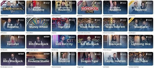 Casino Room Live Dealer Games