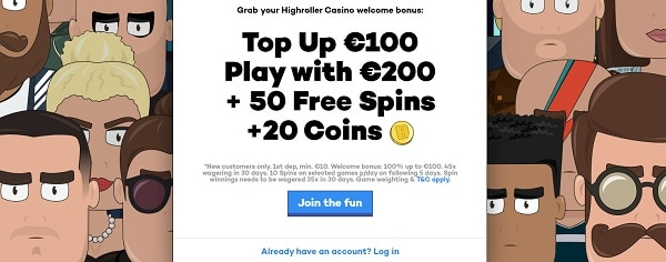100% bonus and 50 Free Spins up for grabs