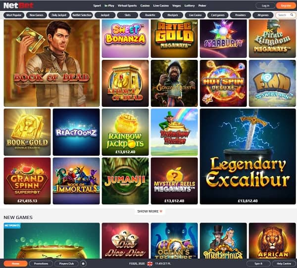 NetBet Casino Review