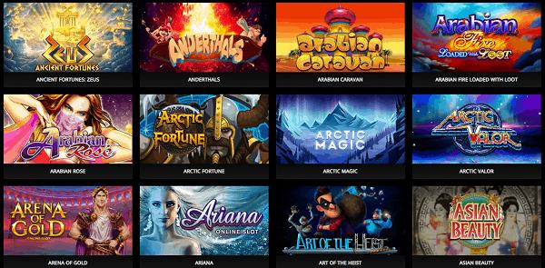 Crypto Casino Games and Slots