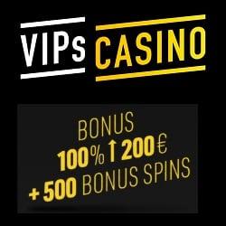 20% cashback + 100% bonus + 500 FS