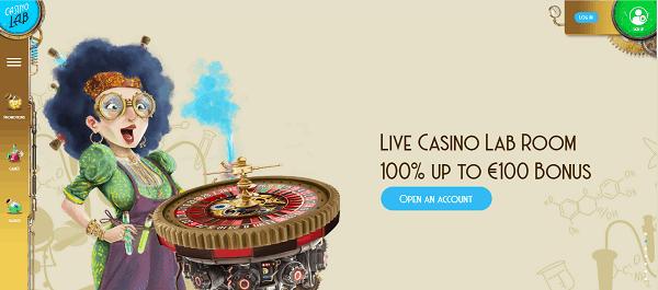 Live Dealer welcome bonus