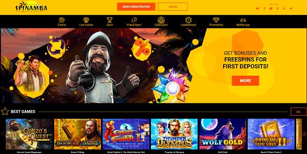 Spiamba Casino Website Review