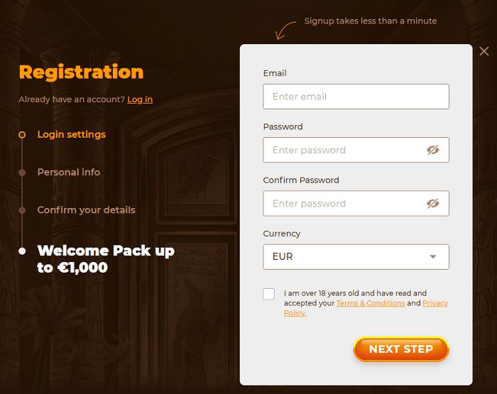 AmunRa Casino Free Play Bonus