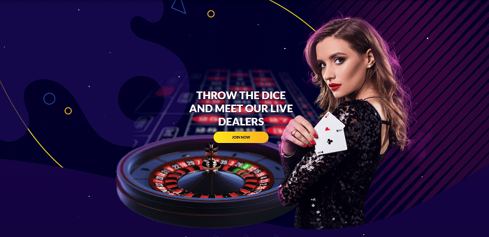 Live Casino Welcome Bonus