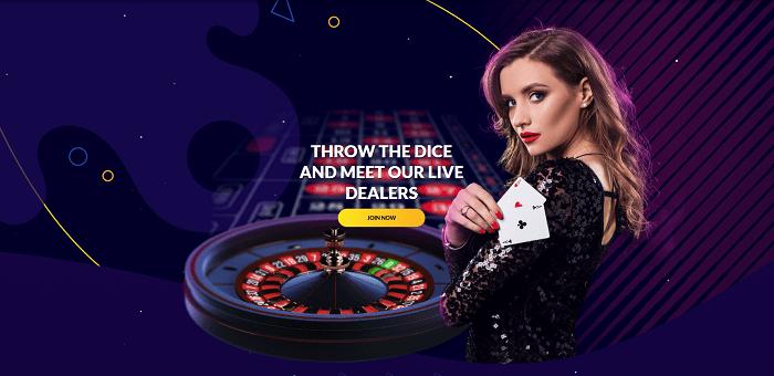 Live Casino Welcome Bonus