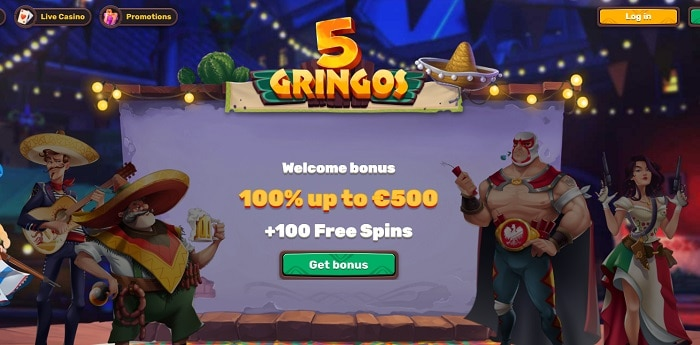 100% + 100 Free Spins