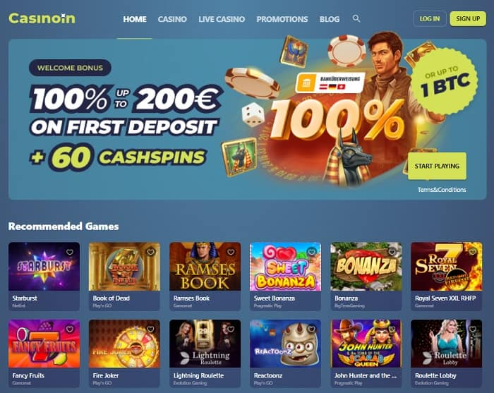 Casinoin Casino Online