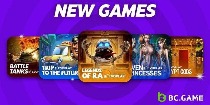 New BTC Games