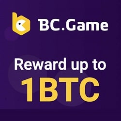 BC Game free cash banner