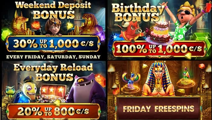 Cleopatra Free Spins Promotion