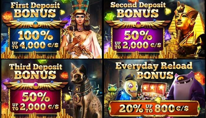 Cleopatra Welcome Bonus